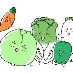 しなびた野菜をシャキッと復活!しなびた野菜の栄養は減少している?